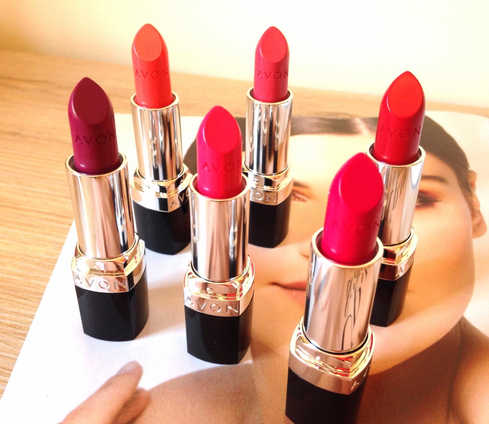New Product Alert Avon Ultra Colour Bold Lipsticks Just Becky